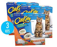 3 Pack - CITIKITTY CAT TOILET TRAINING KIT - Save $$$$