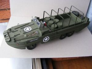 US-ARMY-WW2-DUCK-DUKW-Amphibious-Truck-1-25-DIY-Paper-Model-Kit