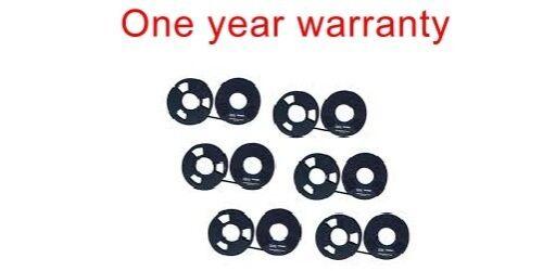 6 black ink ribbon cartridge for IBM LEXMARK 6400 6408 Dot Matrix Printer1040990