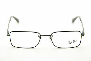 e423d5ffa03 New Authentic Ray Ban RB 6223 2509 Black 53mm Rectangle Frames ...