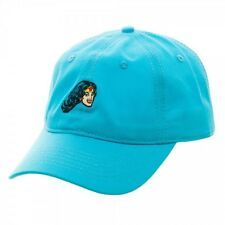 DC COMICS WONDER WOMAN DAD HAT TEAL BLUE SLOUCH CAP CURVED BILL ADJUSTABLE  RETRO be3e7e866696