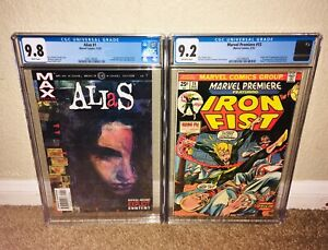 ALIAS-1-1ST-JESSICA-JONES-MARVEL-PREMIERE-15-FIRST-IRON-FIST-KUNG-FU-SHANG-CHI