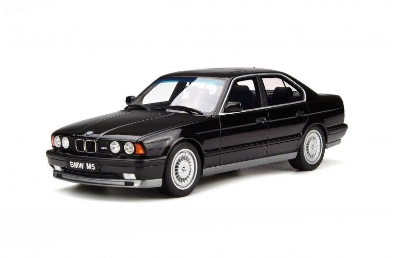 Otto Mobile BMW M5 E34 1989 Resina negro NUEVO OT690 1 18 Resin negro NEW