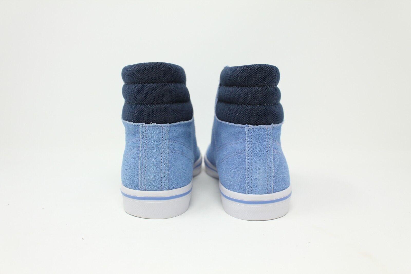 Lacoste Marcel Mid High # 7-26SPW1018BB1 Light Blau High Mid Top Sneaker Damens 6.5 - 8 7c1740