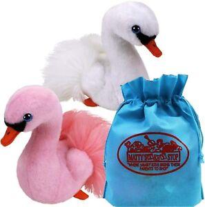 c42115079fd Ty Beanie Babies Swans Gracie (White)   Odette (Pink) Gift Set 2 ...