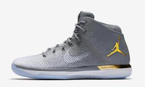 df4607705d82f8 Nike Air Jordan 31 XXXI JBC Jordan Brand Classic Grey Gold Size 9.5 ...