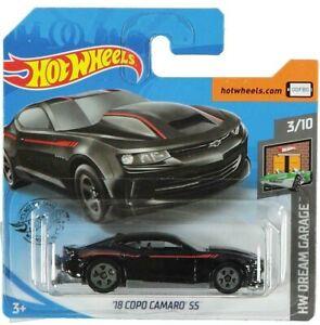 Hot Wheels /'18 COPO Camaro SS HW Dream Garage #3//10 Silver Die-Cast 1:64 Scale
