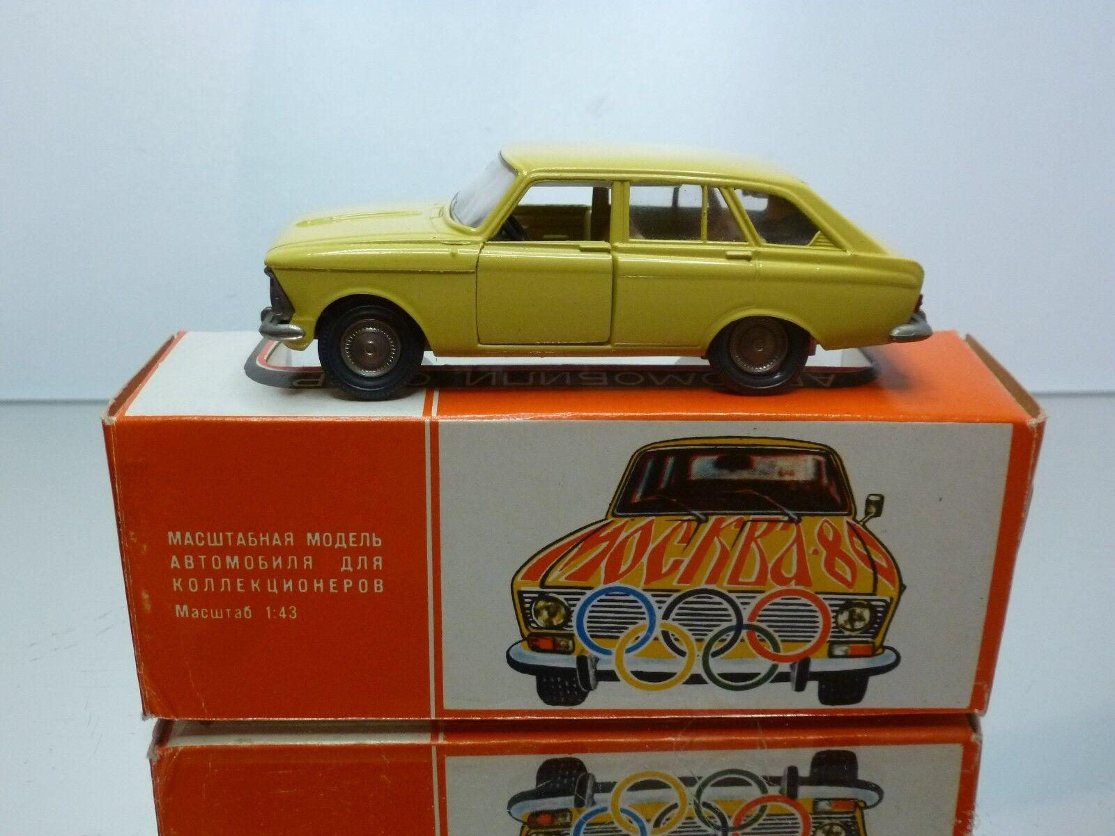 CCCP USSR A12 NOVOEXPORT MOSKVITCH 1500 KOMBI- OLYMPIC GAMES MOSKOU 1980 - 1 43