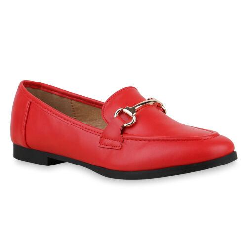 Klassische Damen Slippers Freizeit Slip On Schuhe Schnallen 825814 Trendy
