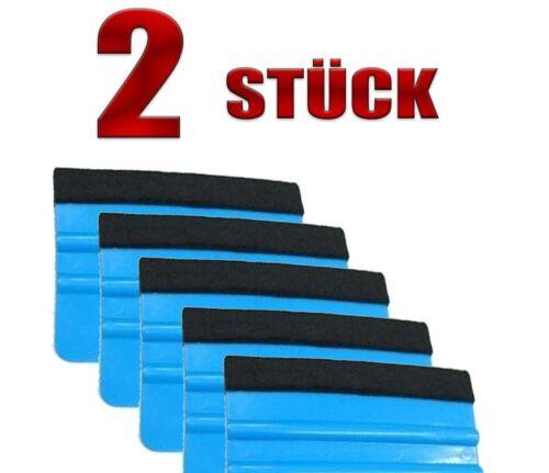 Filzrakel bleu 2 pièces-folierung-Tapisserie Massicot-vollfolierung