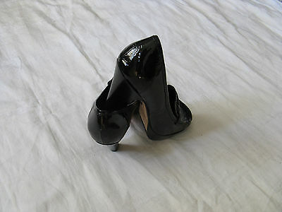 BUFFALO London Damen Schuhe Pumps Leder Gr.38 US Size 7 women high heel leather