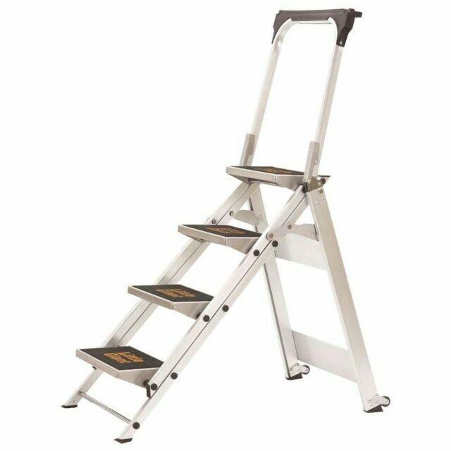 Little Giant Ladder Systems 10410BA Safety Step Stepladder T