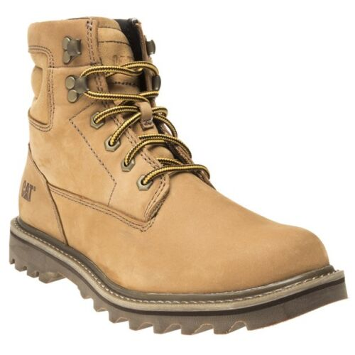 Up Wireline Mens Caterpillar New Ankle Tan Nubuck Boots Lace q4866wH