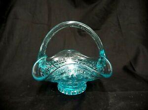 TEAL-BLUE-DECORATIVE-GLASS-BASKET-TRINKET-DISH-POTPOURRI-HOLDER