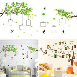 Details About Latest Child Room Stickers Leaf Tree Wall Decals Diy Photos Nursery School Decor