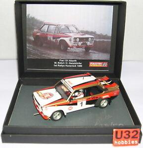 Scalextric Passion Sp018 Fiat 131 Abarth N ° 4 6 ° Rallye Hunsrück 1980 Walter Röhrl