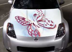 D BUTTERFLY Full Color Graphics Adhesive Vinyl Sticker Fit Any - Car vinyl decalsabstract full color graphics adhesive vinyl sticker fit any car