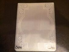 Sizzix Large 4.5x5.75in Embossing Folder FRAME ORNATE WITH SWIRLS fits Cuttlebug