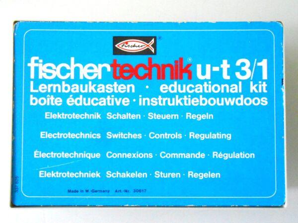 Amical Fischertechnik U-t 3/1 Hobby 3/1 Lernbaukasten Avec Couverture ChronoméTrage Ponctuel