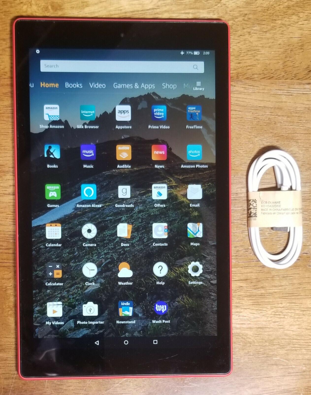 Black All-New Fire HD 10 Tablet 10.1 1080p full HD display, 32 GB