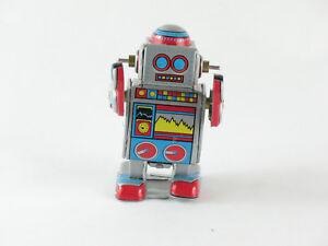 Roboter Blechroboter GüNstigster Preis Von Unserer Website Grün Robot Lilliput