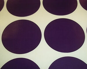 1000 Dark Purple 25mm - 2.5cm Colour Code Dots Round Stickers Sticky ID Labels