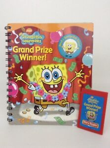 Story-Reader-Book-w-Cartridge-Spongebob-Squarepants-Publications-International