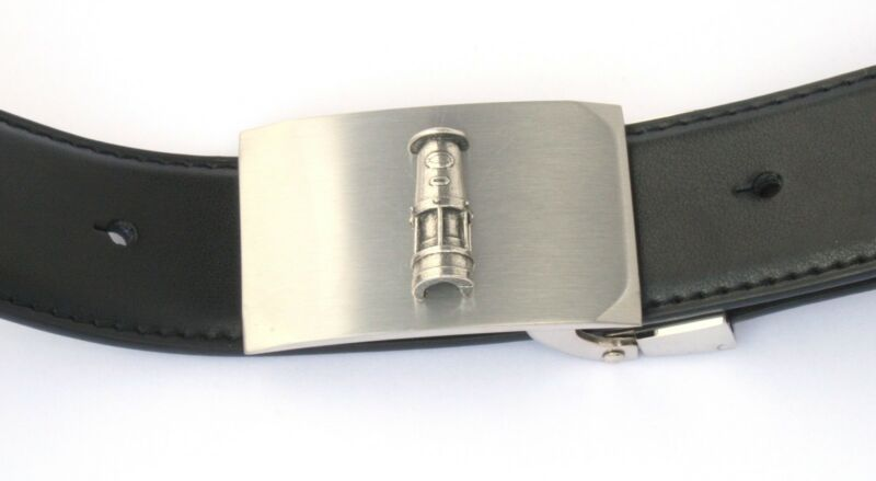 Davy Lamp Belt Buckle And Leather Belt In Gift Tin Ideal Miners Gift 100