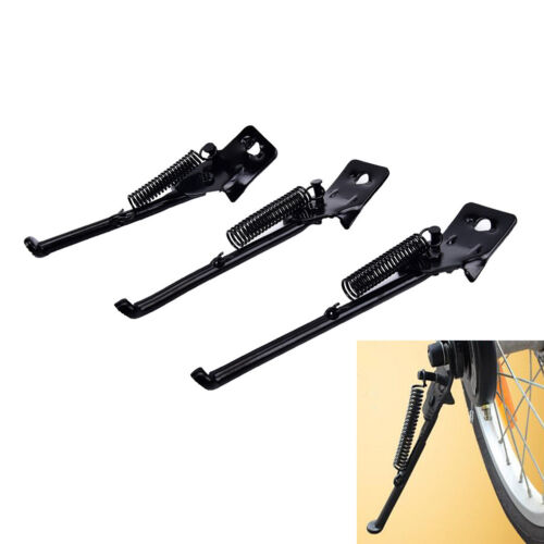 1pc bicycle brace Kickstand for children bike 12//14//16 inches carbon steel Nice~