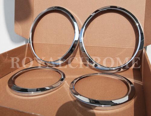 USA STOCK COMBO Set CHROME Head /& Tail Light Trims for JAGUAR S-Type 04-08 LCI