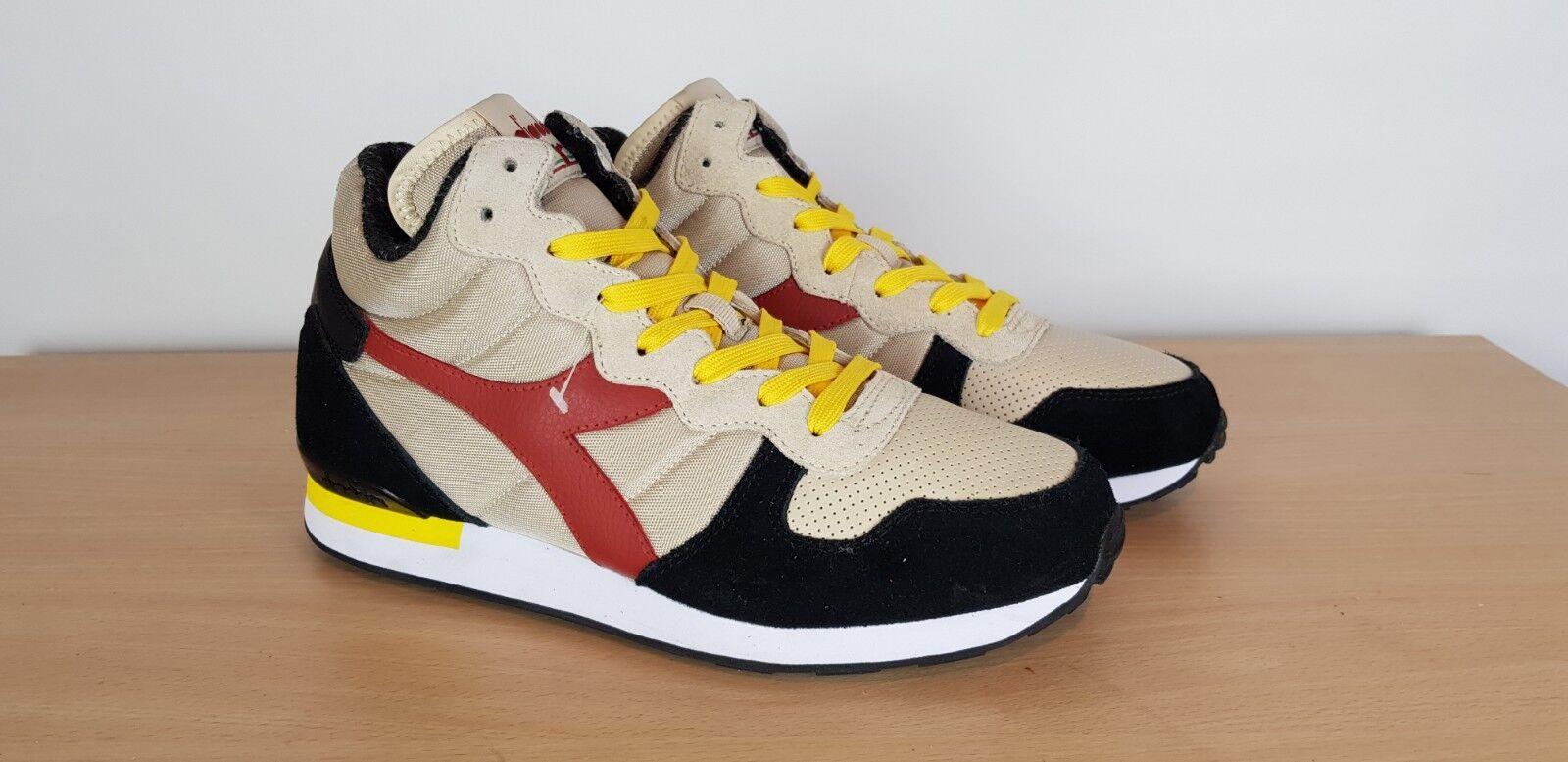 Diadora Mens Textile & Suede Retro Sports Casuals Ankle Stiefel Trainers, UK 8