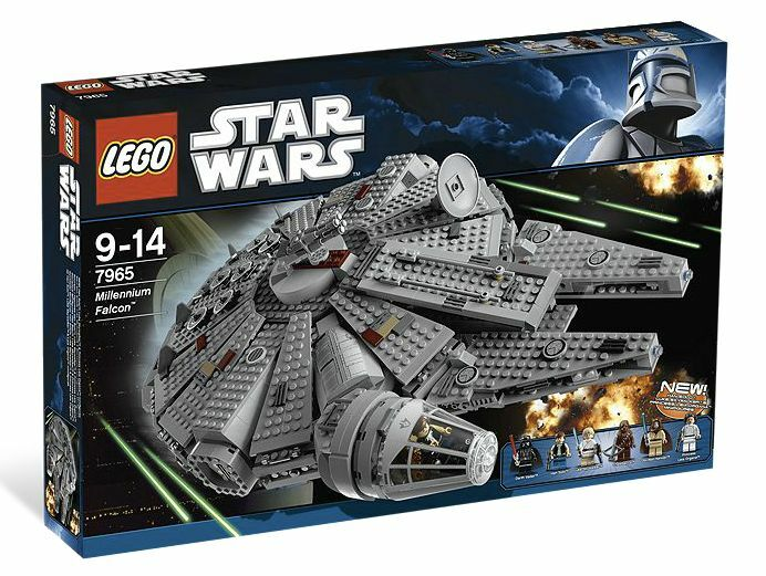 LEGO ® Star Wars ™ 7965 Millennium Falcon ™ NEUF neuf dans sa boîte _ NEW En parfait état, dans sa boîte scellée Boîte d'origine jamais ouverte