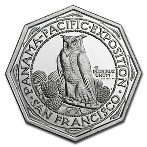 2-oz-999-FINE-Silver-High-Relief-Octagonal-Panama-Pacific-IN-STOCK