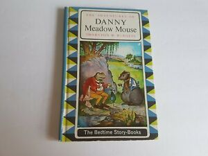 Thornton-Burgess-Danny-Meadow-Mouse-1964-Hardcover-Book-Vintage