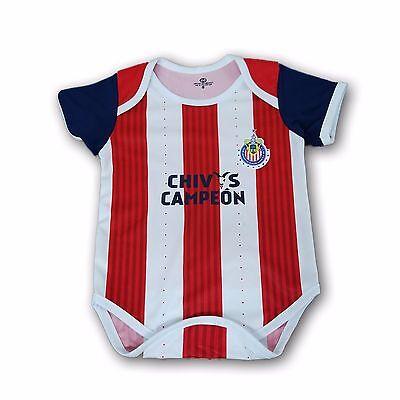 Chivas del Guadalajara Campeon Black//Red Jumpsuite Mameluco 100/% Cotton