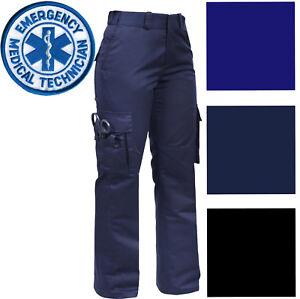 Image is loading Womens-Tactical-EMS-EMT-Pants-Ladies-Cargo-Uniform- 6e8c096e93e