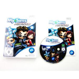 Nintendo-Wii-Jeu-Mon-Rebord-Agents-Emballage-D-039-Origine-avec-Manuel
