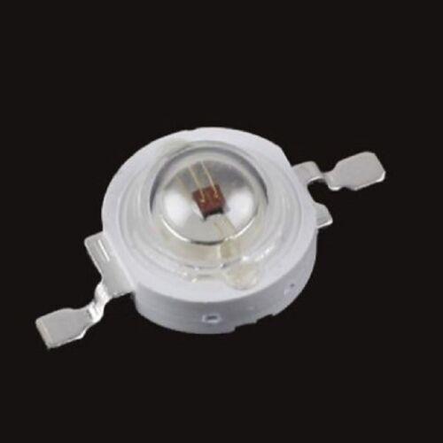 3 vatios LED emisor chip 700ma 585nm 595nm amarillo grow Epistar High Power 3,4v 3,6v