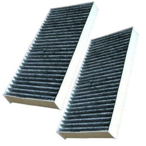2pcs cabin air filters fits infiniti qx56 2005 2010 nissan. Black Bedroom Furniture Sets. Home Design Ideas
