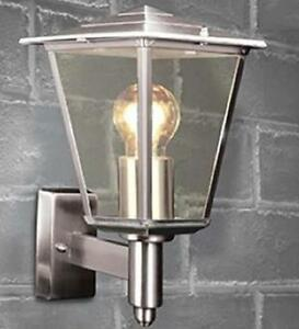 Image Is Loading Modern Stainless Steel Outdoor Lantern 4 Sided Porch