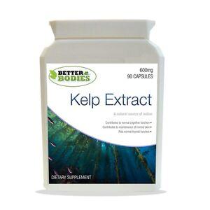 Sea-Kelp-90-Tablets-HIGH-Strength-600mg-Iodine-Thyroid-Vegan-Gluten-Free-Made-UK