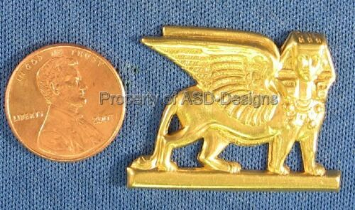 6pc Raw Brass égyptien Pharoah Chat trouver 4856