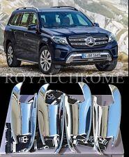 US STOCK x4 ROYAL CHROME Door Handle Cups Mercedes W166 X166 ML GLK GLE GL GLS