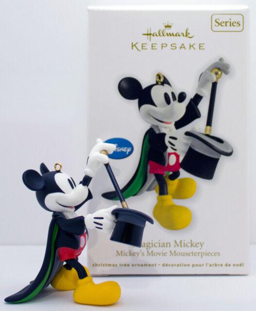 Hallmark Christmas Ornament 2012 Magician Mickey Movie Mouseterpiece Qx8294 - Hallmark Christmas Ornament 2012 Magician Mickey Movie Mouseterpiece