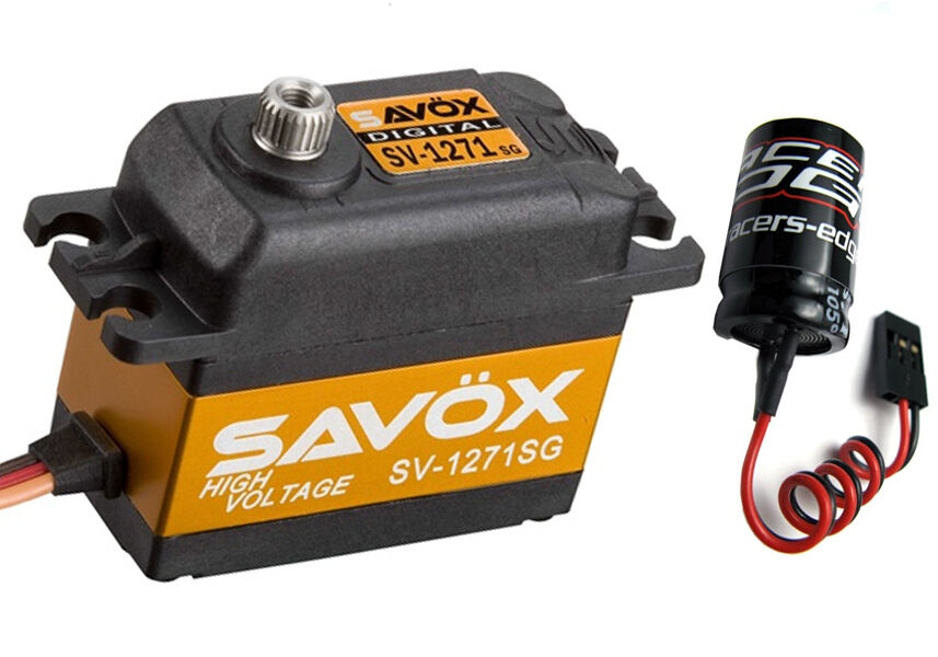 Savox SV-1271SG High Voltage Steel Gear Digital Servo w  Glitch Buster
