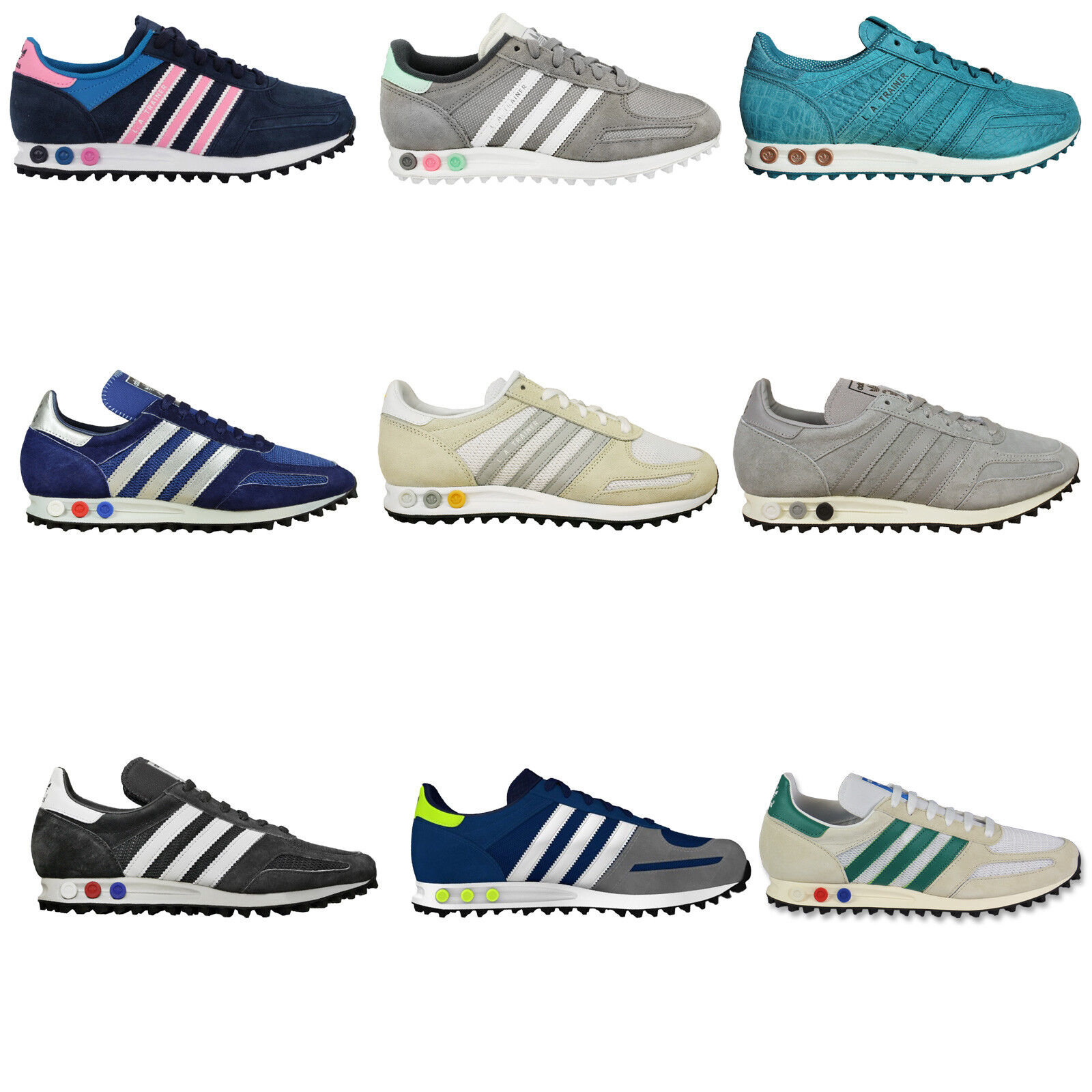 Adidas Originals La Trainer Womens Trainers Running shoes Casual shoes Sneakers