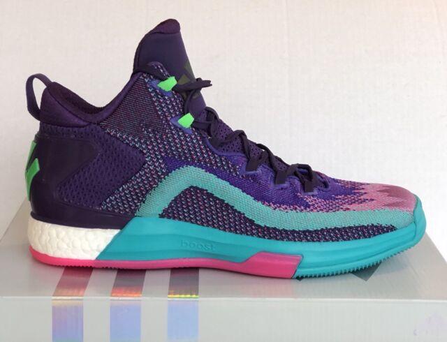 3077ea60a135 Men s ADIDAS John Wall 2 BOOST Primeknit (D70028)  NEW  Basketball Shoes Sz