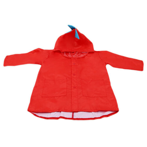 Kids Rain Coat Dinosaur Children Raincoat Waterproof Rainwear Girls Boys LD