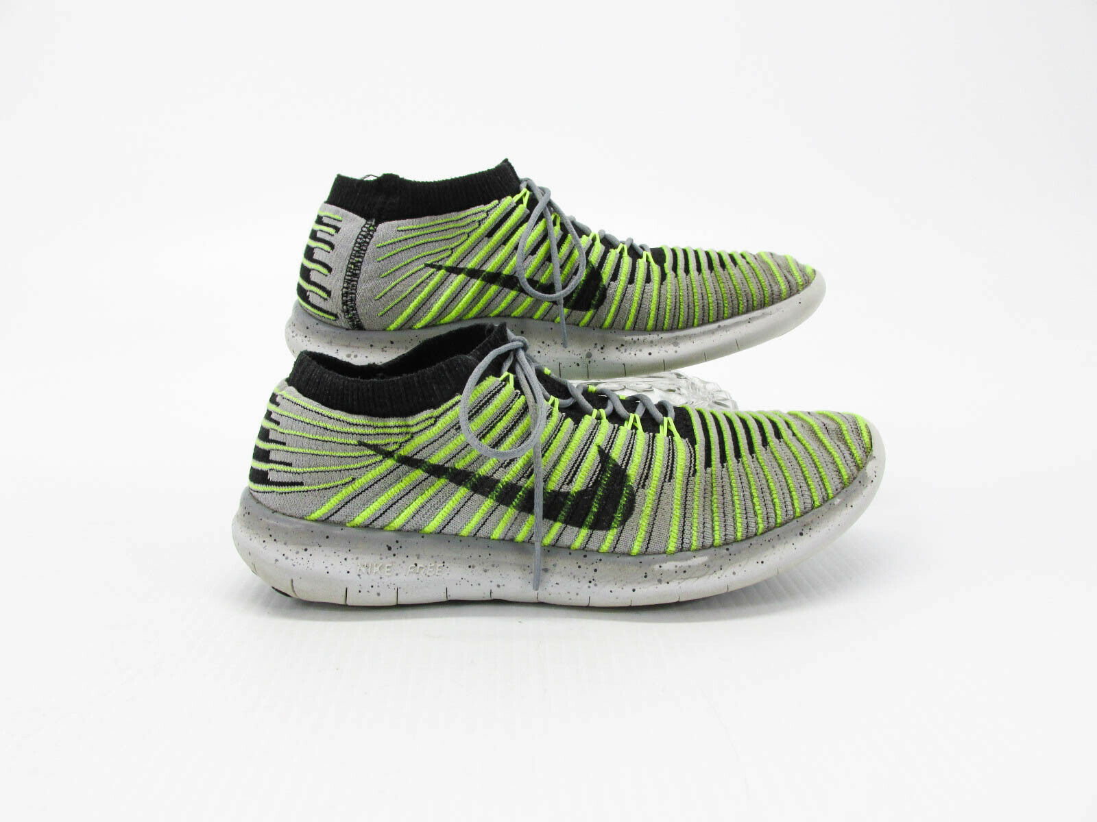 Nike Run Motion Flyknit Men Athletic Running shoes Size 7M Pre Owned HJ