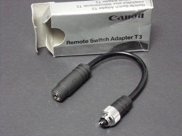 AgréAble Canon Switch Adaptater T3 Nos Neuf Commutateur À Distance Adaptateur 50% De RéDuction